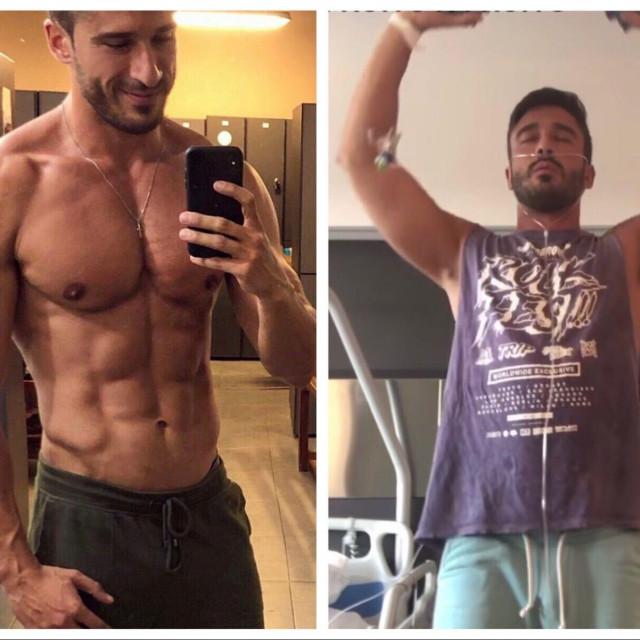 David prije i poslije korone