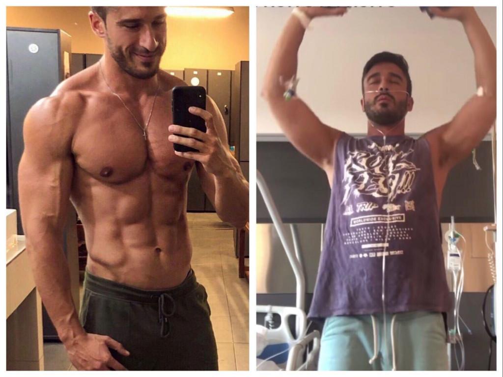 David Castilla u svega nekoliko dana je izgubio 10 kilograma, završio u bolnici i na rehabilitaciji<br /> PRIVATNI ALBUM