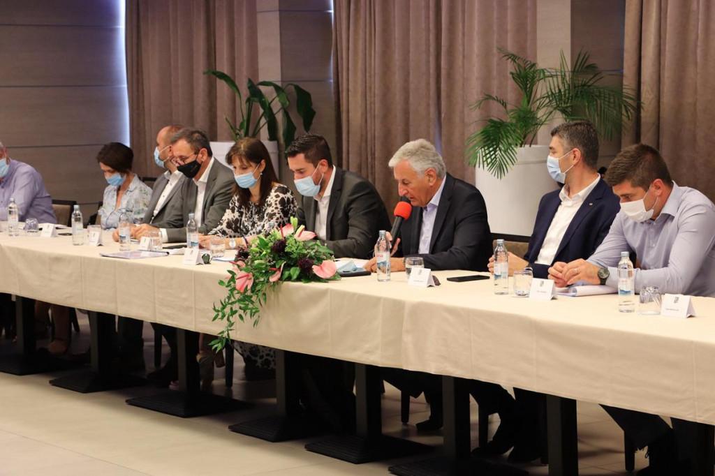Održan kolegij župana s gradonačelnicima i načelnicima s područja županije
