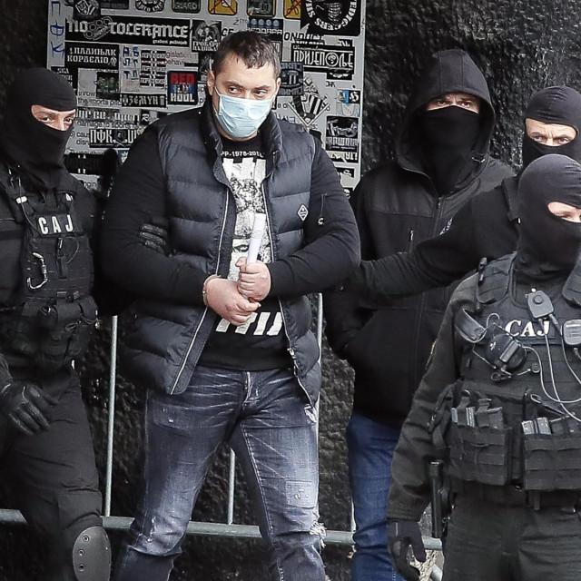 Veljko Belivuk, član Srpske napredne stranke, u iskazu tužilaštvu uglavnom je govorio o političarima