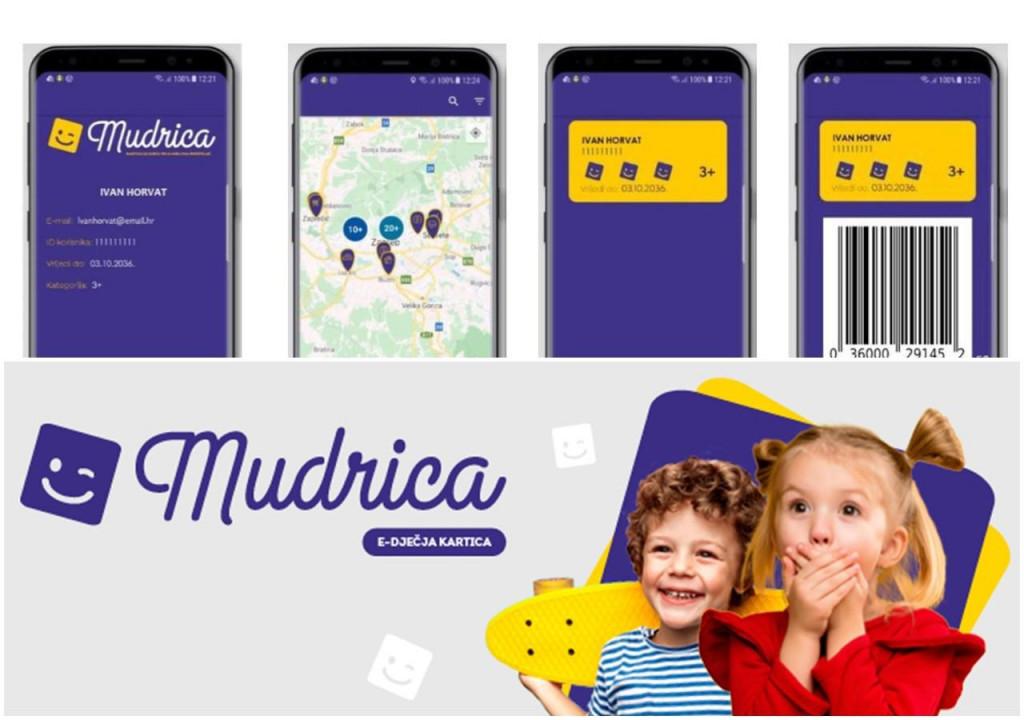 Projekt e-dječje kartice 'Mudrica'