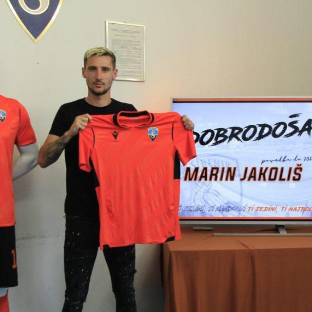 Marin Jakoliš na posudbi u Šibeniku do kraja sezone