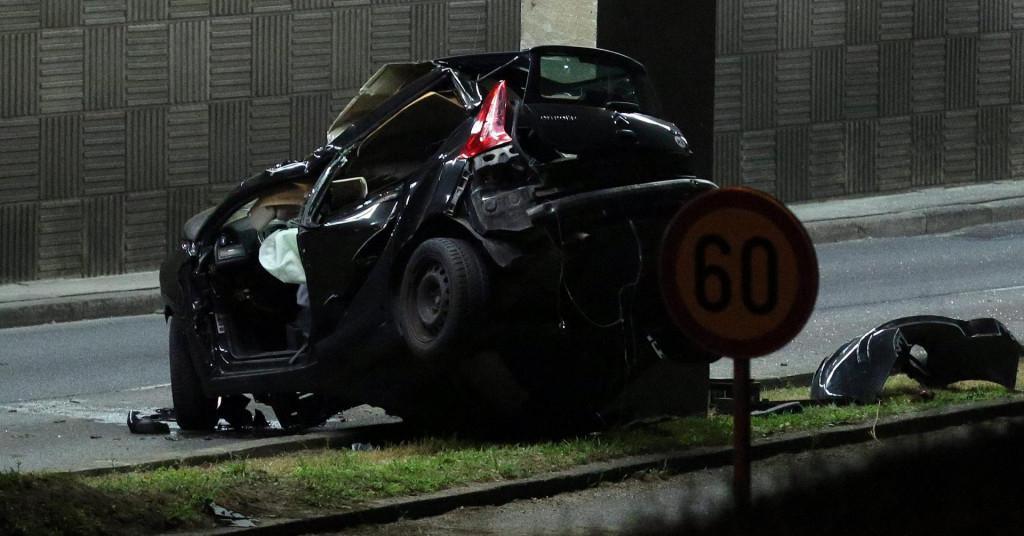 Prometna nesreća na Aleji Bologne<br />