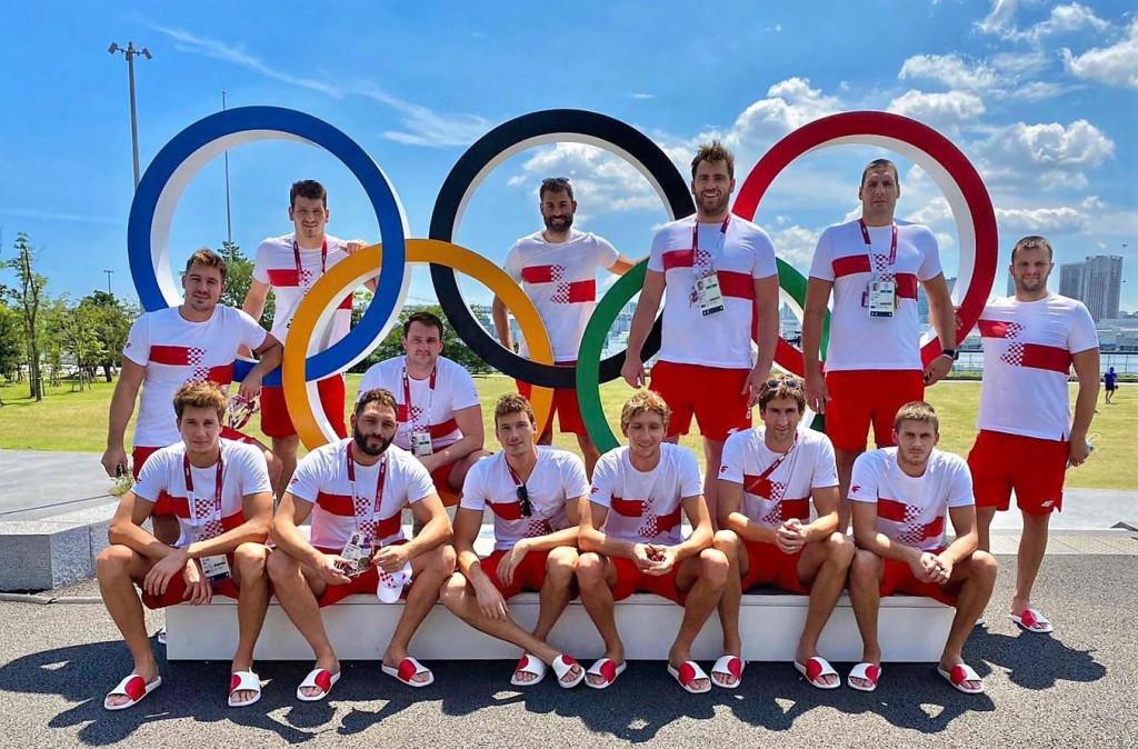 Hrvatska vaterpolska reprezentacija na Olimpijskim igrama u Tokiju