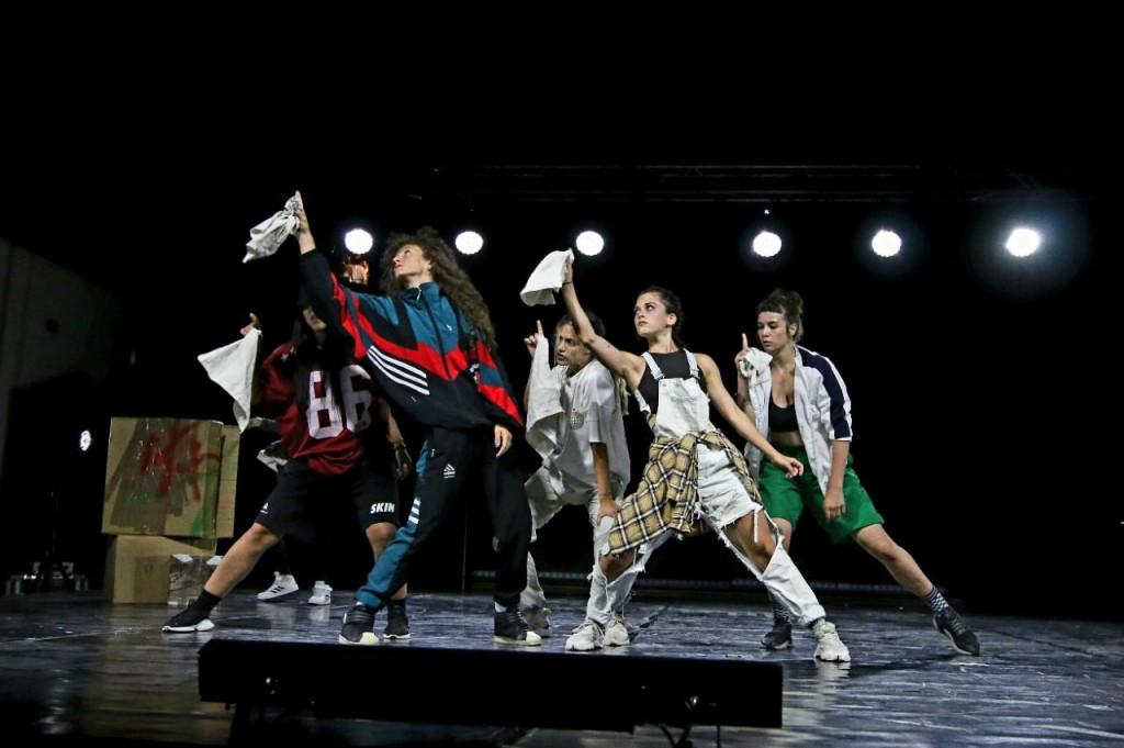 Izvrsni mladi plesni umjetnici izvodili su zahtjevne koreografske hip-hop blokove