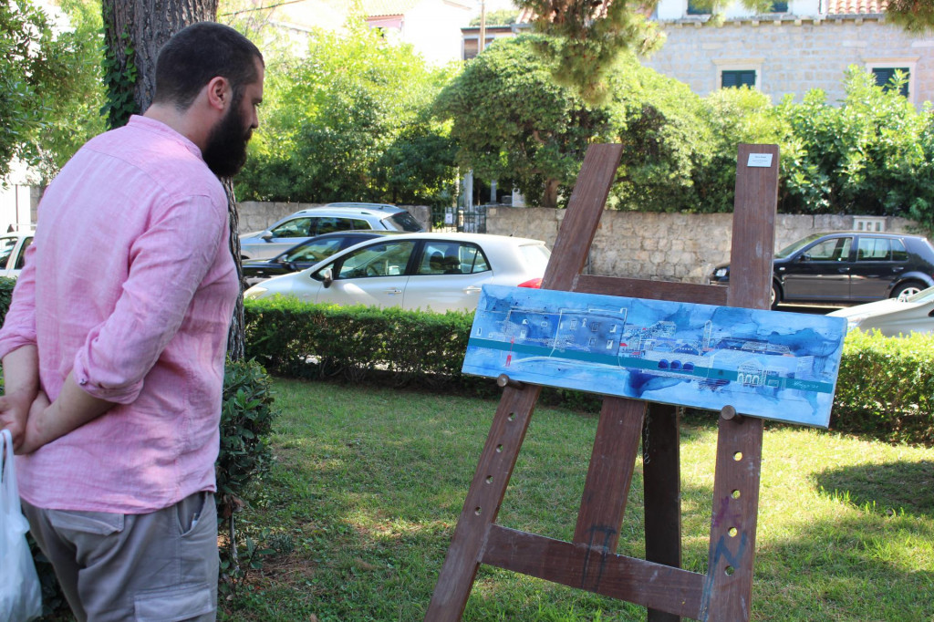 """Počeo je prvi Street Art/Art park u sklopu manifestacije """"Ljeto u Gružu"""""""