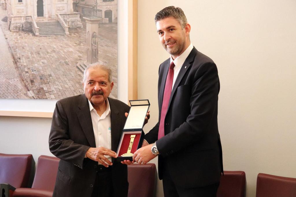 Katarski šeik Faisal Bin Qassim Al Thani s izaslanstvom je posjetio gradsku upravu Dubrovnika
