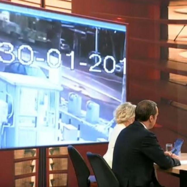 Aleksandar Vučić na razgovoru s novinarima TV Pink