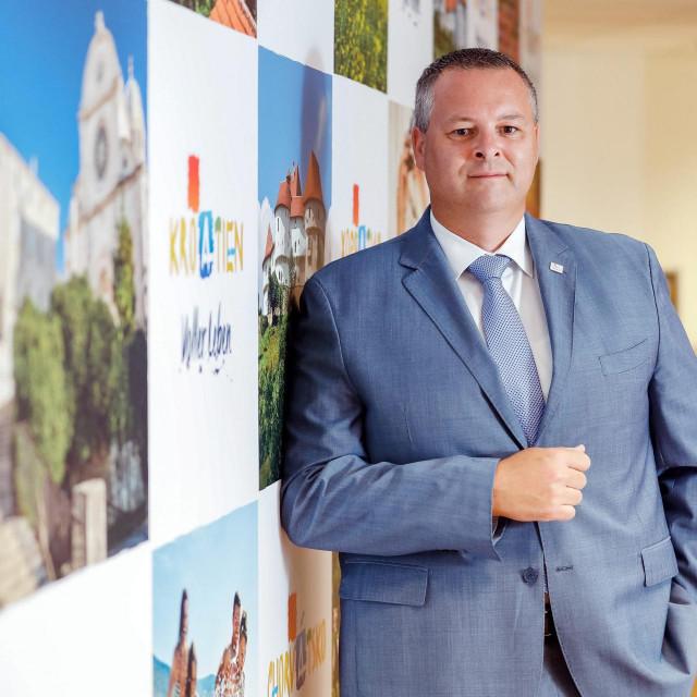 Kristjan Staničić, direktor Hrvatske turisticke zajednice.<br />