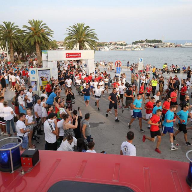 Javna vatrogasna postrojba Grada Splita organizirala je humanitarnu utrku i akciju prikupljanja sredstava za opremanje splitskog odjela neonatologije<br />