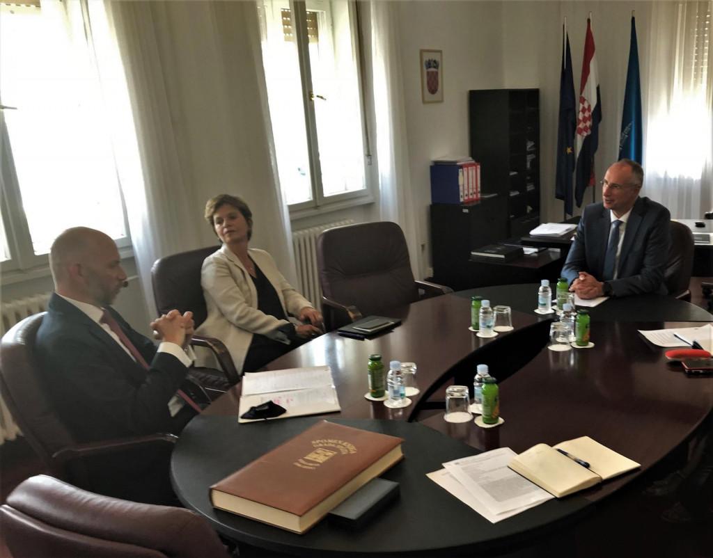 Gradonačelnik Ivica Puljak primio je britanskog veleposlanika Simona Dereka Thomasa