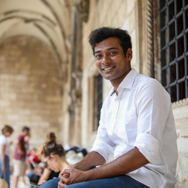 Postdoktorand iz Indije na Sveučilištu u Dubrovniku Soumic Sarkar