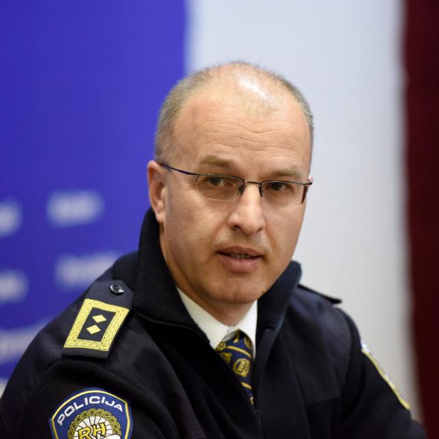 Načelnik PU zadarske Anton Dražina
