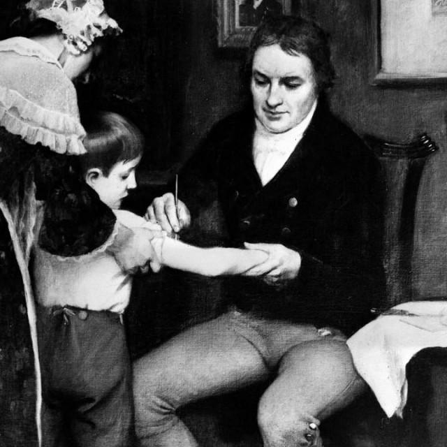Liječnik Edward Jenner (1749.-1823.)