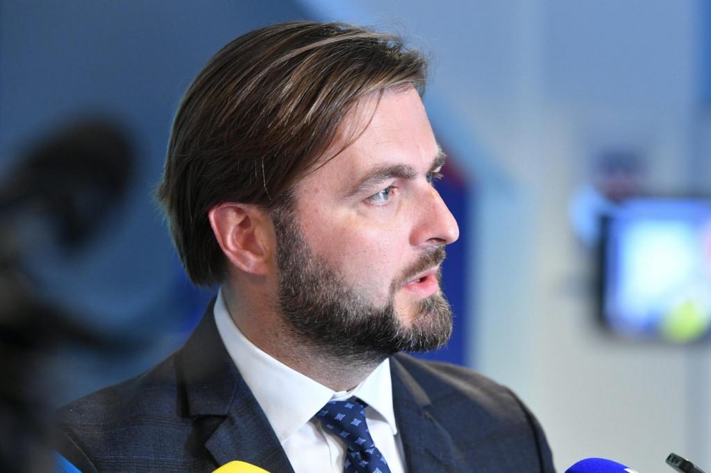 Na fotografiji: Tomislav Ćorić, Ministar gospodarstva i održivog razvoja