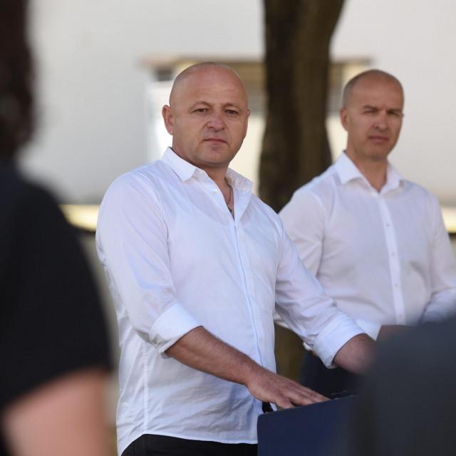 Bore Mršić i Anton Dražina