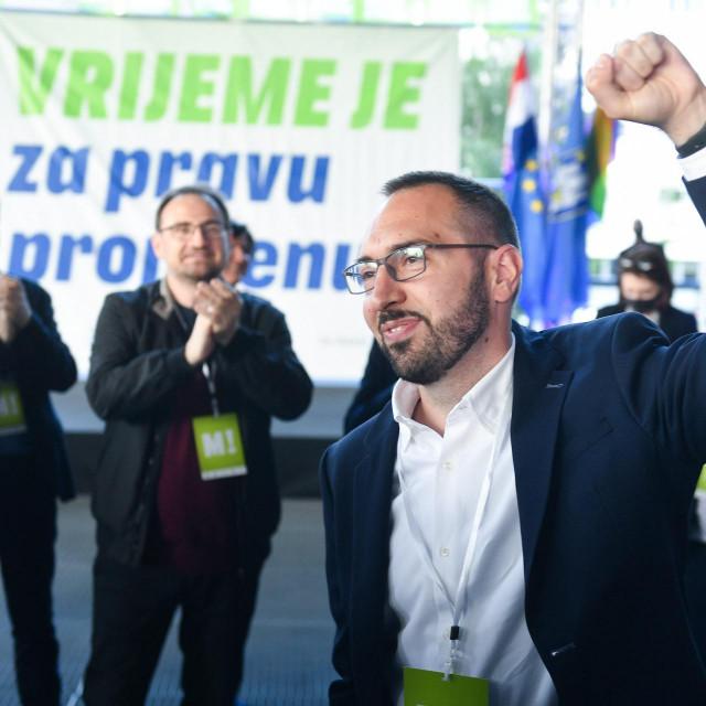 Tomislav Tomašević, lider platforme Možemo! i gradonačelnik Zagreba