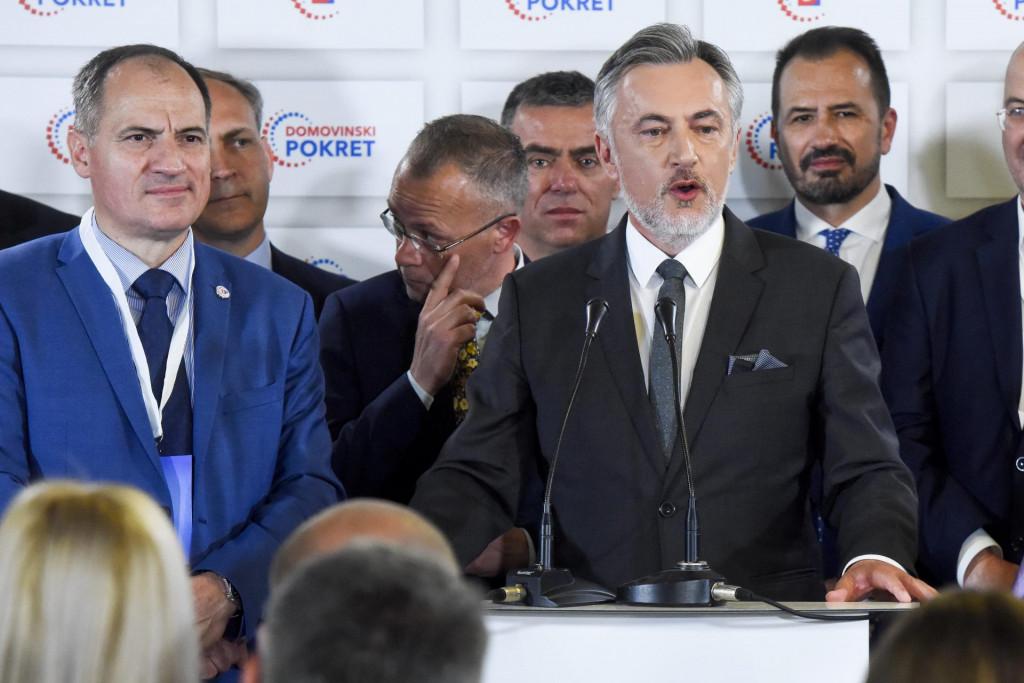 Miroslav Škoro, donedavno čelni čovjek Domovinskog pokreta s glavnim ljudima stranke