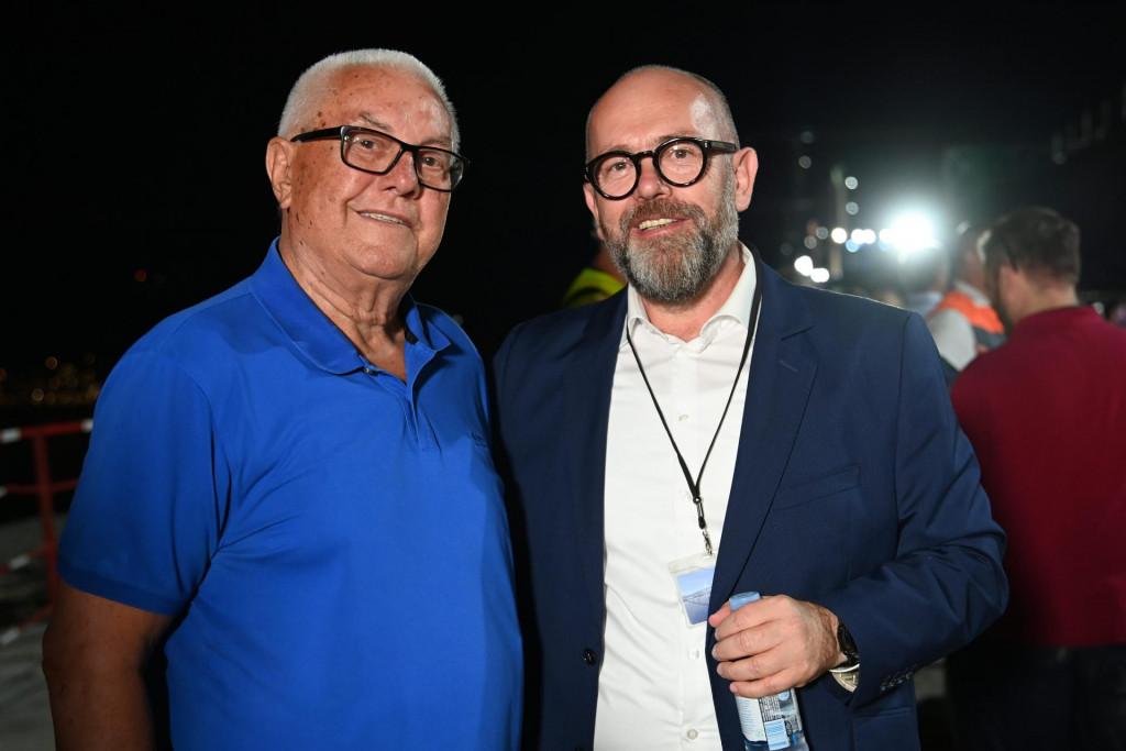 Luka Bebić i Josip Škorić