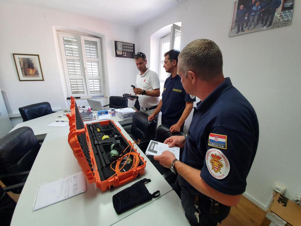 U sklopu europskog projekta E-CITIJENS nabavljena vrijedna opremu za potrebe civilne zaštite