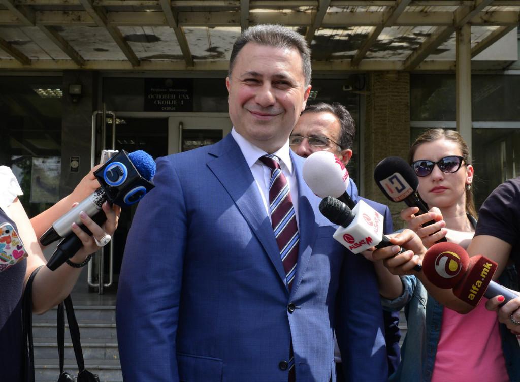 Nikola Gruevski u vrijeme dok je bio premijer
