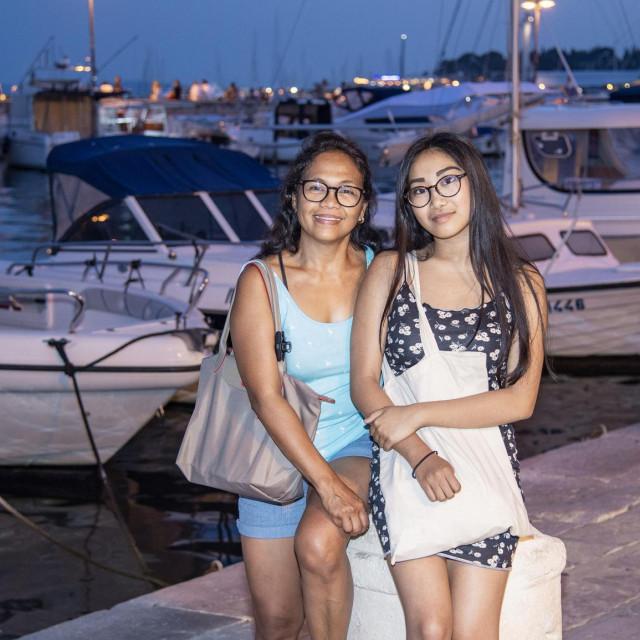 Alma i Maelis u Split su stigle iz Pariza
