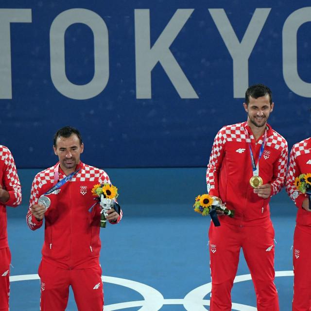 Hrvatsko finale Olimpijskih igara - srebrni Marin Čilić i Ivan Dodig, te zlatni Mate Pavić i Nikola Mektić