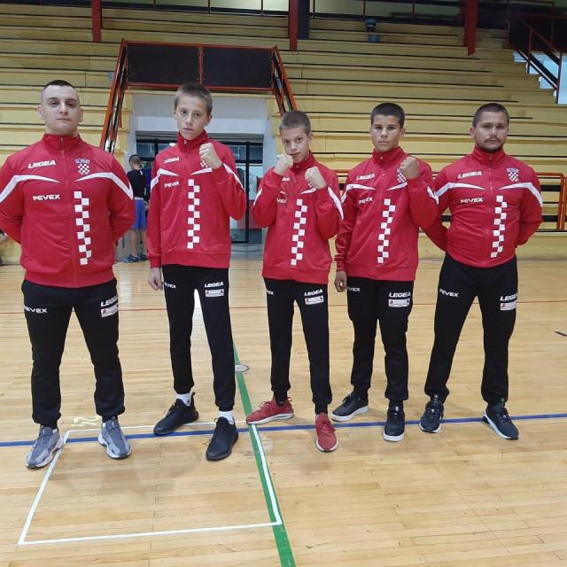 Mini pripreme u Mrkoplju, trojica boksača i dva trenera Zadrana u reprezentaciji