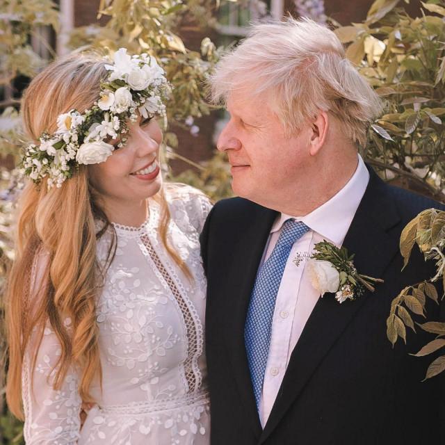 Carrie i Boris Johnson vjenčali su se 29. svibnja ove godine