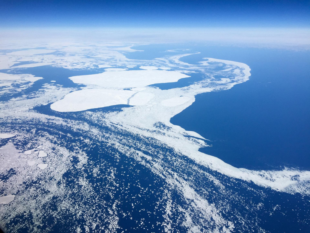Topljenje leda na Grenlandu