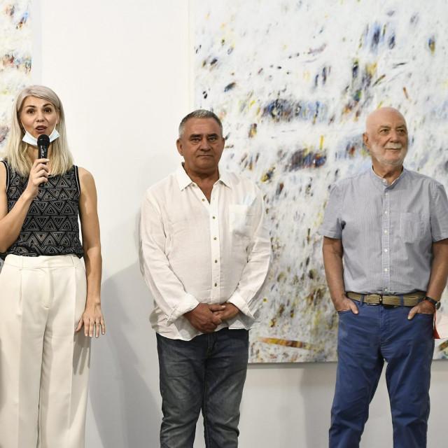 Branko Franceschi, Miro Bulj, Dragana Modrić, Milan Bešlić i Matko Trebotić.
