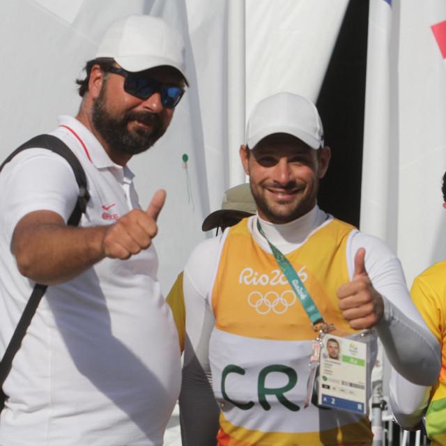 Jozo Jakelić i Tonći Stipanović na Olimpijskim igrama u Riju 2016. godine