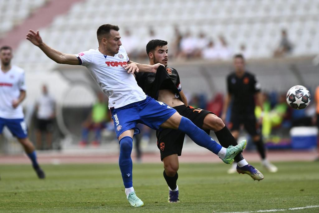 <br /> Utakmica Hajduk - Sibenik<br />