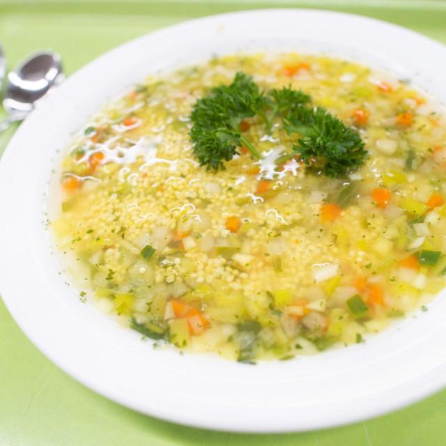 U juhu, umjesto tjestenine, zakuhajte proso