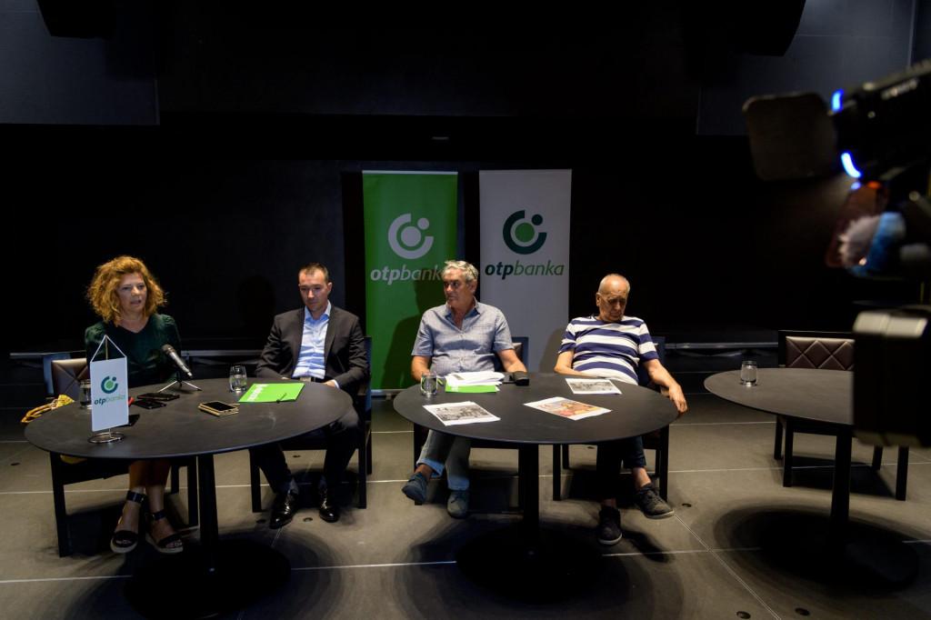 Konferencija za medije 24. Večeri dalmatinske šansone i potpisivanje sponzorskog ugovora s OTP bankom
