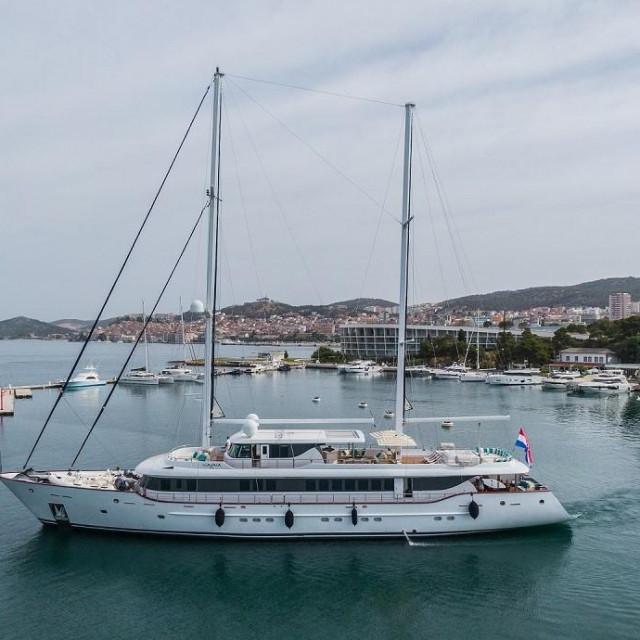 46-metarsku jahtu Aiaxaia brojni nautičari s pravom smatraju najluksuznijim plovilom na Jadranu