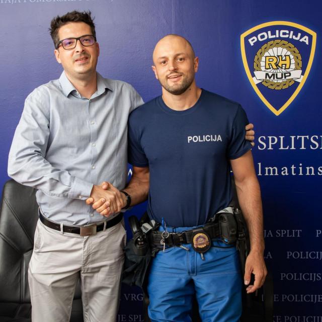 Policajac Zvonimir Vrkić i Denis Paler u srijedu su se ponovno sreli