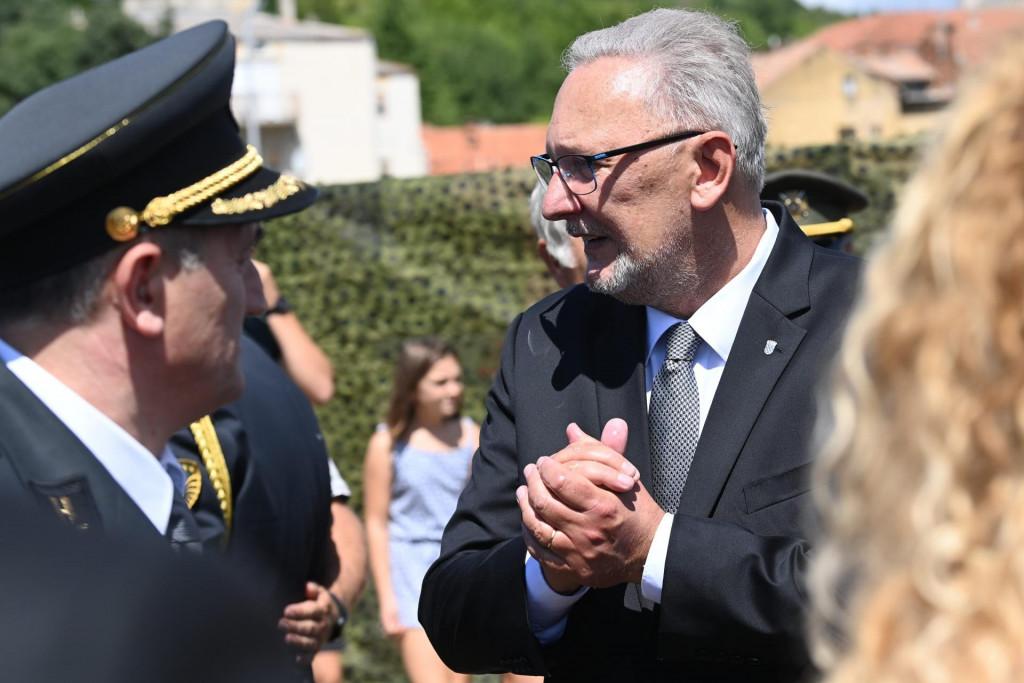 Ministar Davor Božinović u Kninu