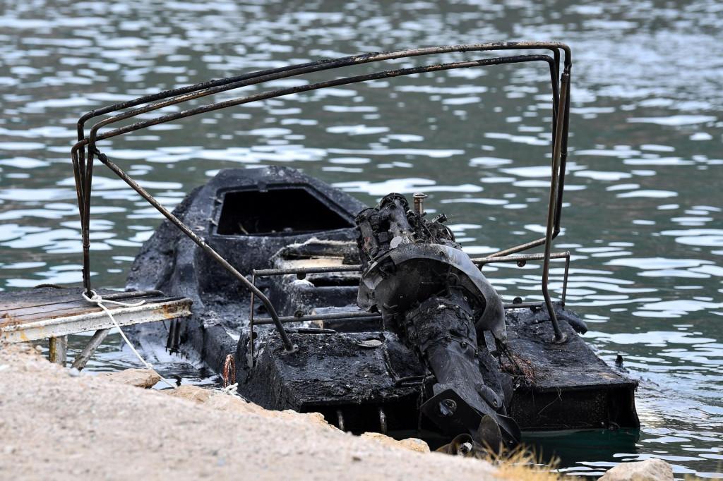 Posljedice jučerašneg požara u Dubrovniku