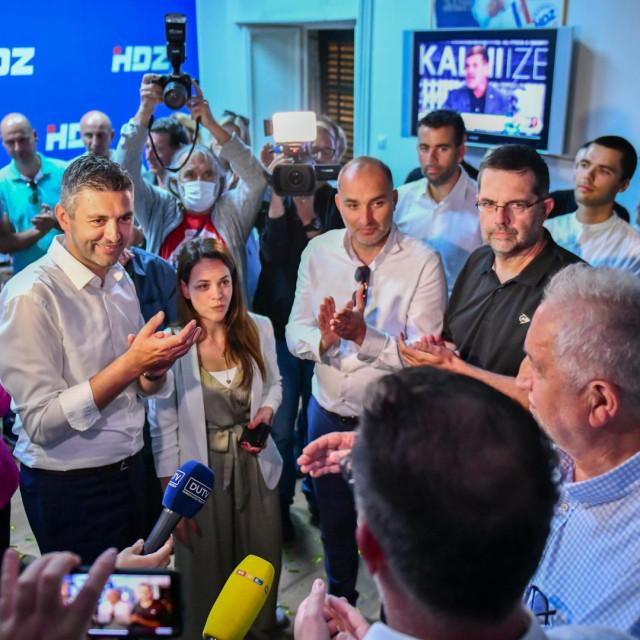 Franković, raguž i Vićan nakon HDZ-ove pobjede na lokalnim izborima