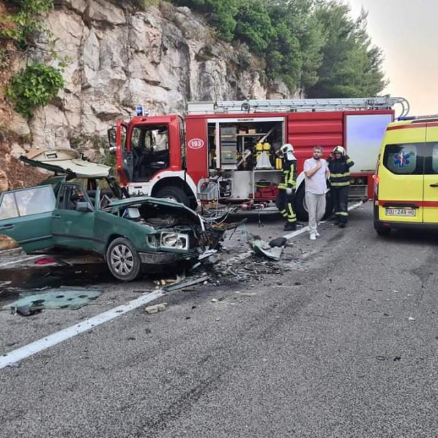 Teška prometna nesreća kod Velikih žala