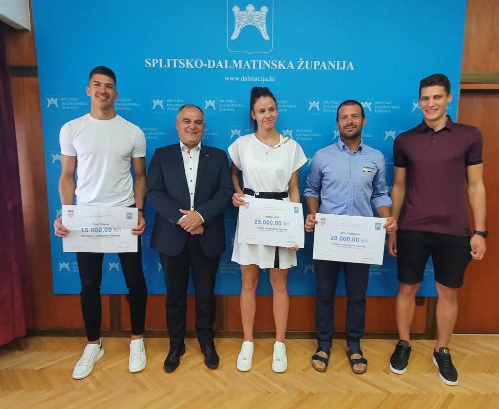 Olimpijci kod župana Blaženka Bobana