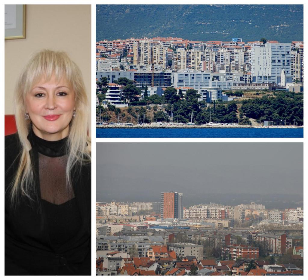 Jasminka Biliškov ima agenciju za nekretnine i u Splitu i Zagrebu, pa su joj dobro poznate razlike