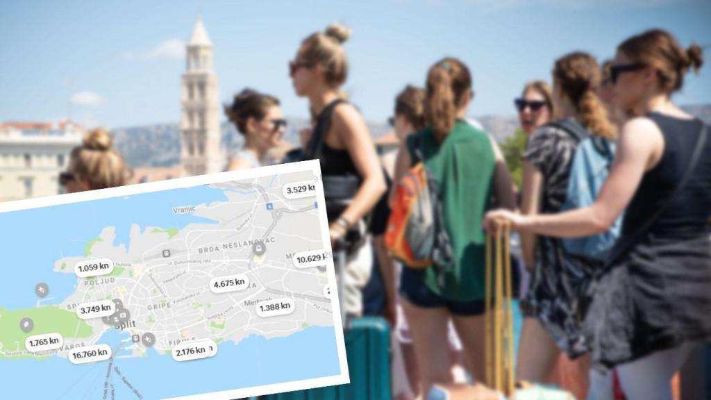 Puni smještajni kapaciteti u Splitu