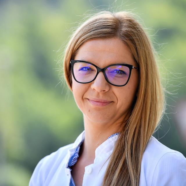 Marina Matkovic, voditeljica odjela prehrane i dijetetike u Opcoj bolnici Dubrovnik
