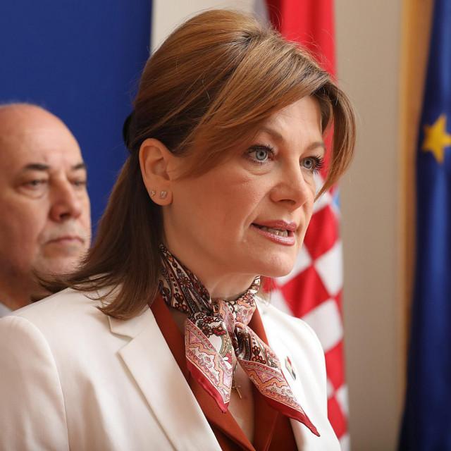 Na fotografiji: Karolina Vidovic Kristo i Milan Vrkljan