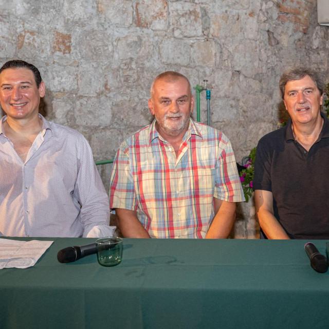 Vinko Rožić, Boris Njavro i Vedran Benić