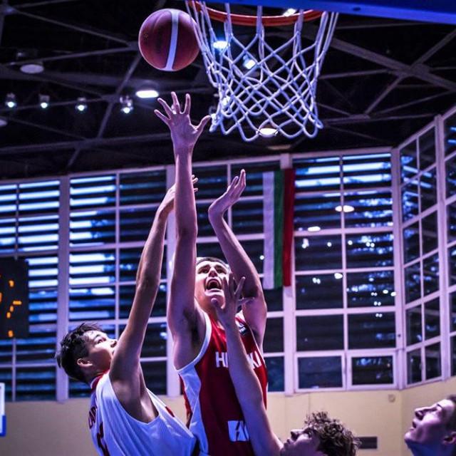Mateo Tomašević, košarkaš Dubrovnika, kadetski reprezentativac Hrvatske