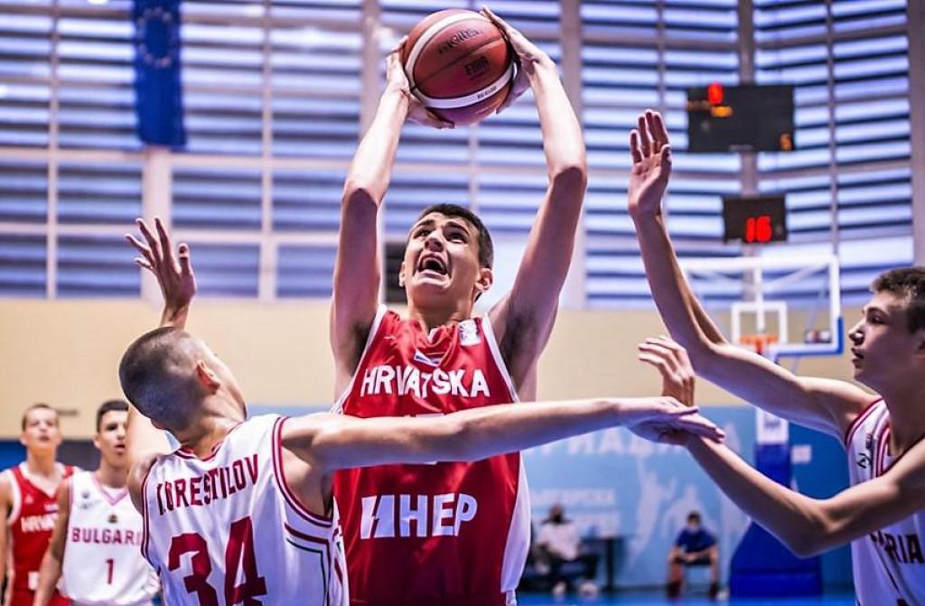 Mateo Tomašević - Dubrovčanin u utakmici 3. kola protiv Bugarske, domaćina turnira