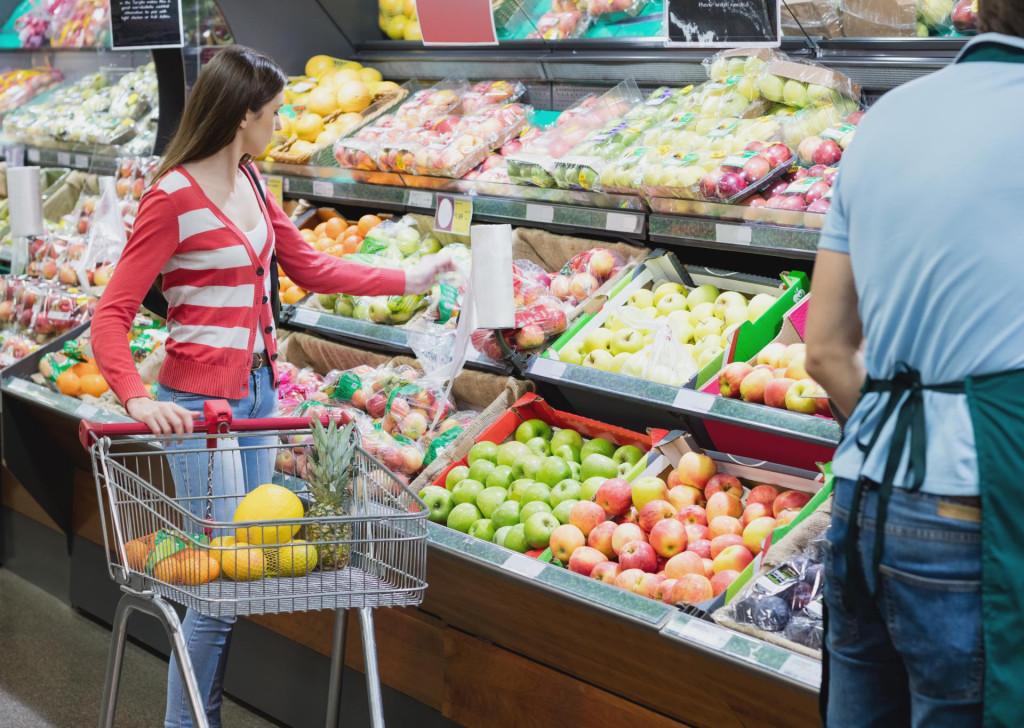 Potrošači za svoj novac dobivaju sve manje namirnica